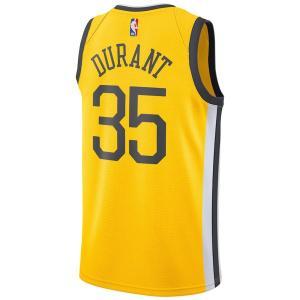 NBA ウォリアーズ ケビン・デュラント ユニフォーム/ジャージ スウィングマン フリップ ナイキ/Nike イエロー BQ1159-729|selection-j
