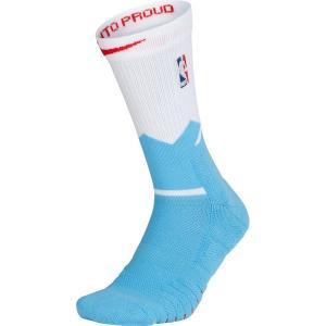 お取り寄せ NBA キングス シティ・エディション エリート クイック クルーソックス/靴下 ナイキ/Nike ホワイト|selection-j