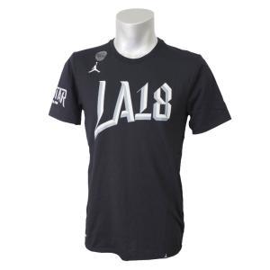 ナイキ ジョーダン/NIKE JORDAN NBA 2018 オールスターゲーム ASW ロゴ J Tシャツ ブラック|selection-j