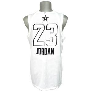 ナイキ ジョーダン/NIKE JORDAN NBA マイケル・ジョーダン 2018 オールスターゲーム オーセンティック ユニフォーム/ジャージ ホワイト|selection-j