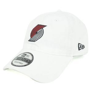 NBA トレイルブレイザーズ 9TWENTY クロス ストラップ キャップ/帽子 ニューエラ/New Era ホワイト|selection-j