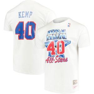 NBA スーパーソニックス ショーン・ケンプ 1994 オールスター ネーム&ナンバー Tシャツ ミッチェル&ネス/Mitchell & Ness|selection-j