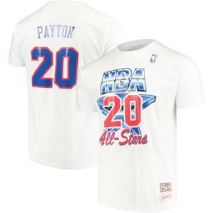 お取り寄せ NBA スーパーソニックス ゲイリー・ペイトン 1994 オールスター ネーム&ナンバー Tシャツ ミッチェル&ネス/Mitchell & Ness|selection-j