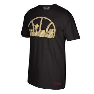 お取り寄せ NBA スーパーソニックス ゴールドロゴ Tシャツ ハードウッドクラシック ミッチェル&ネス/Mitchell & Ness|selection-j