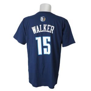 NBA ボブキャッツ ケンバ・ウォーカー ゲームタイム Tシャツ アディダス/Adidas ネイビー レアアイテム|selection-j