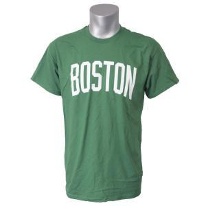 NBA セルティックス Tシャツ 半袖 シティ ワードマーク マジェスティック/Majestic グリーン selection-j