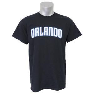 NBA マジック Tシャツ 半袖 シティ ワードマーク マジェスティック/Majestic ブラック selection-j