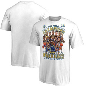 NBA ウォリアーズ 2018 ファイナル優勝記念 カリカチュア Tシャツ selection-j