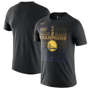 NBA ウォリアーズ 2018 ファイナル優勝記念 ロッカールーム Tシャツ 半袖 selection-j