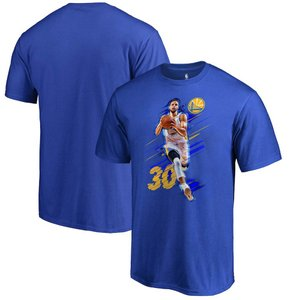 NBA ウォリアーズ ステファン・カリー ステフィン・カリー Tシャツ フェード アウェイ ロイヤル【1902NBAセール】|selection-j
