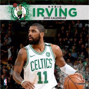 ご予約 NBA セルティックス カイリー・アービング 2019 プレイヤー カレンダー ターナー/Turner selection-j