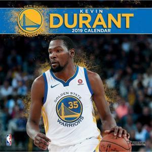NBA ウォリアーズ ケビン・デュラント 2019 プレイヤー カレンダー ターナー/Turner|selection-j
