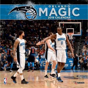 ご予約 NBA マジック 2019 チーム カレンダー ターナー/Turner selection-j