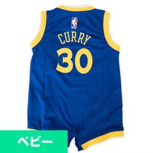 NBA ウォリアーズ ステファン・カリー ユニフォーム/ジャージ ロンパース ベビー レプリカ ワンジー ナイキ/Nike 4Z2I1BZ0P|selection-j