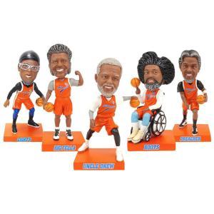 NBA ハーレムバケッツ フィギュア アンクル ドリュー ボブルヘッドセット|selection-j