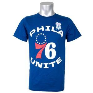 NBA 76ers Tシャツ Phila 76 ユニット ロイヤル|selection-j