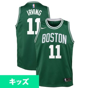 NBA セルティックス カイリー・アービング ユニフォーム/ジャージ キッズ スウィングマン アイコン ナイキ/Nike グリーン selection-j