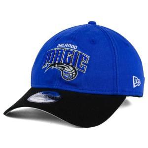 NBA マジック キャップ/帽子 2トーン ニューエラ/New Era ブルー/ブラック(プライマリーロゴ) selection-j