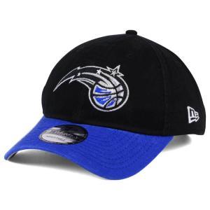 NBA マジック キャップ/帽子 2トーン ニューエラ/New Era ブラック/ブルー(オルタネートロゴ) selection-j