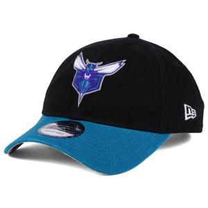 NBA ホーネッツ キャップ/帽子 2トーン ニューエラ/New Era ブラック/ティール(オルタネートロゴ)|selection-j
