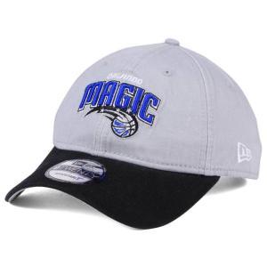 NBA マジック キャップ/帽子 2トーン ニューエラ/New Era グレー/ブラック(プライマリーロゴ) selection-j