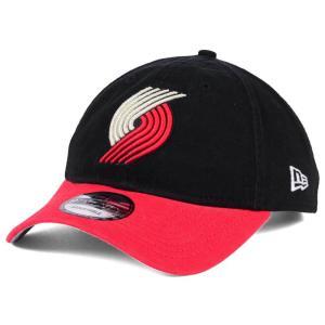 NBA トレイルブレイザーズ キャップ/帽子 2トーン ニューエラ/New Era ブラック/レッド(オルタネートロゴ)|selection-j