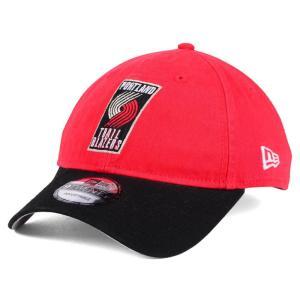NBA トレイルブレイザーズ キャップ/帽子 2トーン ニューエラ/New Era レッド/ブラック(プライマリーロゴ)|selection-j