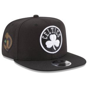 NBA セルティックス キャップ/帽子 アニバーサリーパッチ スナップバック ニューエラ/New Era ブラック selection-j
