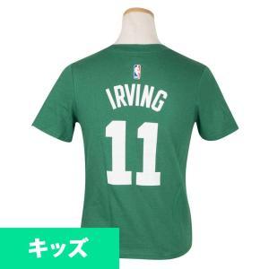 NBA セルティックス カイリー・アービング Tシャツ キッズ アイコン ネーム&ナンバー ナイキ/Nike グリーン 4Z2B311AF|selection-j
