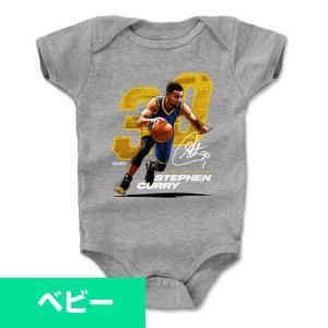 NBA ウォリアーズ ステファン・カリー Tシャツ ベビー/赤ちゃん ロンパース プレーヤー アート 500Level|selection-j