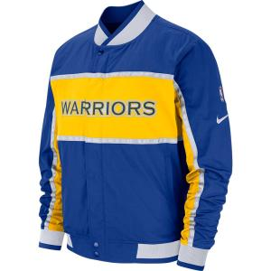 NBA ウォリアーズ ジャケット/アウター コートサイド アイコン メンズ ナイキ/Nike AJ9151-495|selection-j
