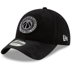 八村塁選手所属 ウィザーズ キャップ 帽子 NBA アジャスタブル ニューエラ New Era ブラック selection-j