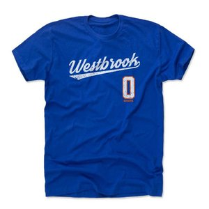 ラッセル・ウェストブルック Tシャツ サンダー NBA  500Level ロイヤル selection-j
