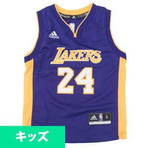NBA コービー・ブライアント レイカーズ ユニフォーム/ジャージ ユース レプリカ アディダス/Adidas ロード|selection-j