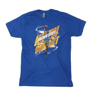 NBA ケビン・デュラント ウォリアーズ Tシャツ  500Level ロイヤルブルー|selection-j
