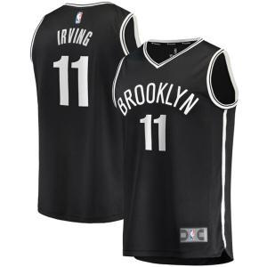 カイリー・アービング ユニフォーム/ジャージ ネッツ NBA レプリカ ブラック|selection-j
