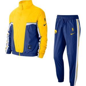ゴールデンステイト・ウォリアーズ NBA ジャケット/アウター GSW トラックスーツ コートサイド ナイキ/Nike CJ7140-495|selection-j