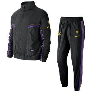 ロサンゼルス・レイカーズ NBA ジャケット/アウター LAL トラックスーツ コートサイド ナイキ/Nike CJ7141-010|selection-j