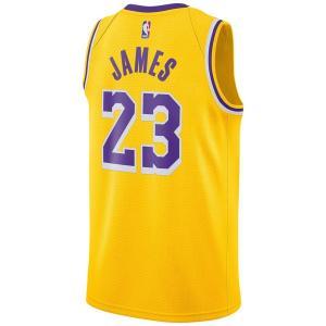 レブロン・ジェームス ロサンゼルス・レイカーズ NBA ユニフォーム/ジャージ 2019-20 スウィングマン ナイキ/Nike ゴールド AA7099-741【NIKEJP】