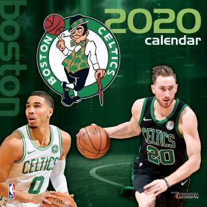 ご予約 NBA ボストン・セルティックス 2020 チームウォール カレンダー Turner|selection-j