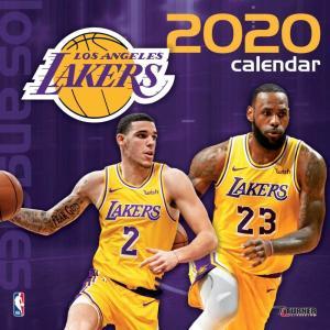 ご予約 NBA ロサンゼルス・レイカーズ 2020 チームウォール カレンダー Turner|selection-j