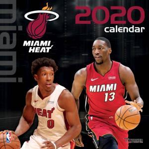 ご予約 NBA マイアミ・ヒート 2020 チームウォール カレンダー Turner|selection-j