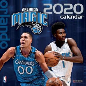 ご予約 NBA オーランド・マジック 2020 チームウォール カレンダー Turner|selection-j