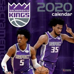 ご予約 NBA サクラメント・キングス 2020 チームウォール カレンダー Turner|selection-j