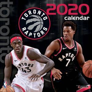 ご予約 NBA トロント・ラプターズ 2020 チームウォール カレンダー Turner【1910価格変更】