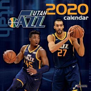 ご予約 NBA ユタ・ジャズ 2020 チームウォール カレンダー Turner|selection-j