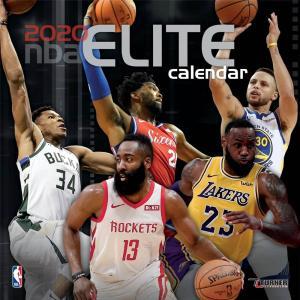 ご予約 NBA 2020 エリート ウォール カレンダー Turner【1910価格変更】