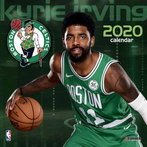 ご予約 NBA カイリー・アービング ボストン・セルティックス 2020 プレイヤー ウォール カレンダー Turner|selection-j