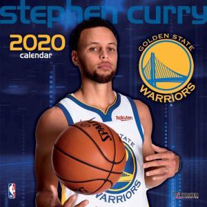 ご予約 NBA ステファン・カリー ステフィン・カリー ゴールデンステイト・ウォリアーズ 2020 プレイヤー ウォール カレンダー Turner【1910価格変更】