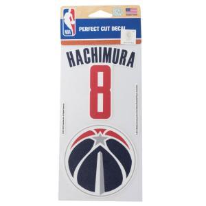 八村塁選手 所属 NBA 八村 塁 ワシントン・ウィザーズ パーフェクトカット デカール ステッカー ウィンクラフト/WinCraft